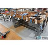"""72"""" X 34"""" STEEL FRAME BENCHES"""