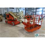 40' JLG MODEL N40 ELECTRIC BOOM LIFT; S/N 33882, 500 LB CAPACITY, 503 HOURS SHOWING (MFG YEAR 1998)