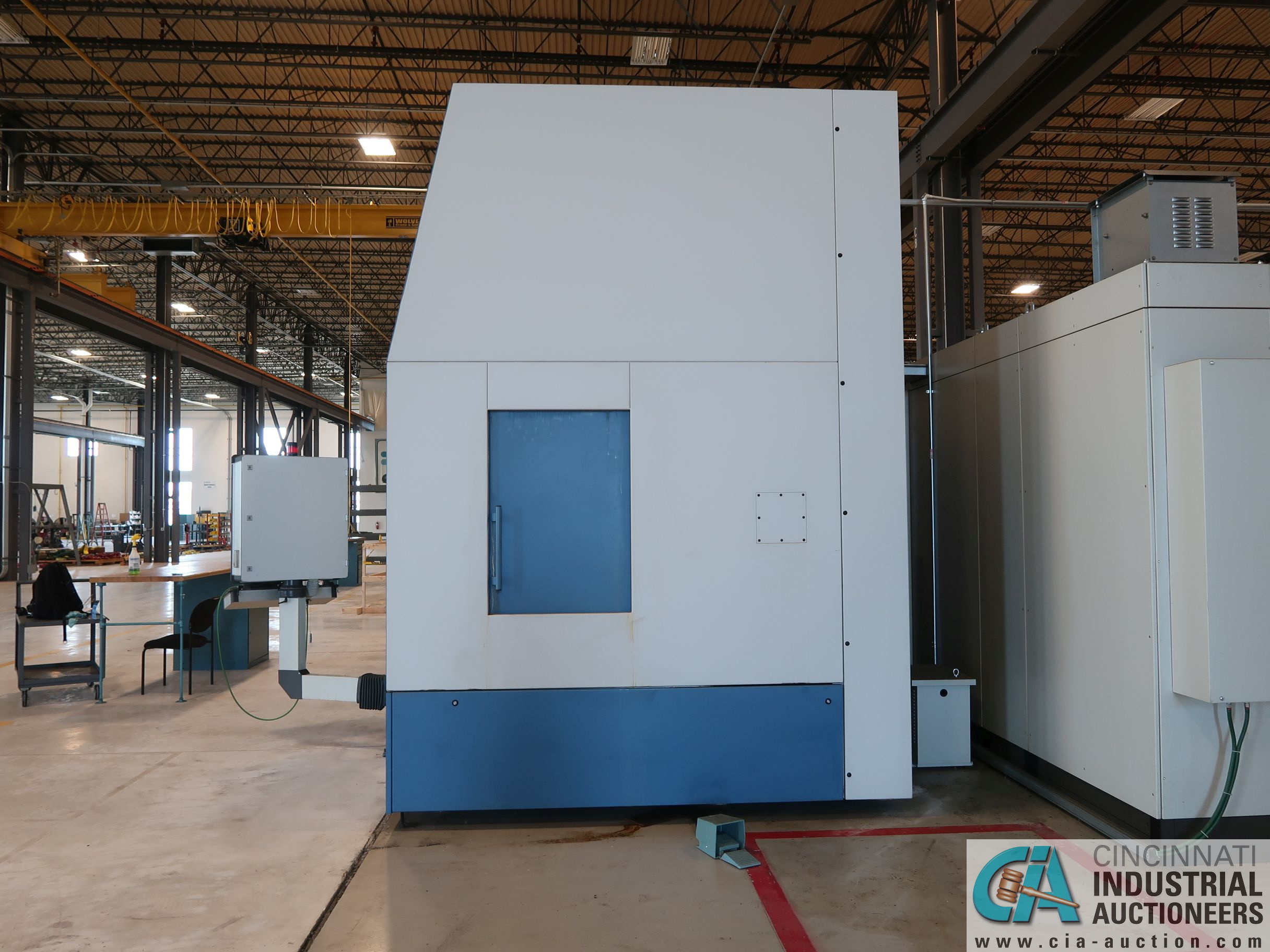 BERTHIEZ MODEL RVU 900/80 ID/OD, WITH TURNING, VERTICAL CNC GRINDER; S/N 4219, 84OD SIEMENS CONTROL - Image 22 of 33