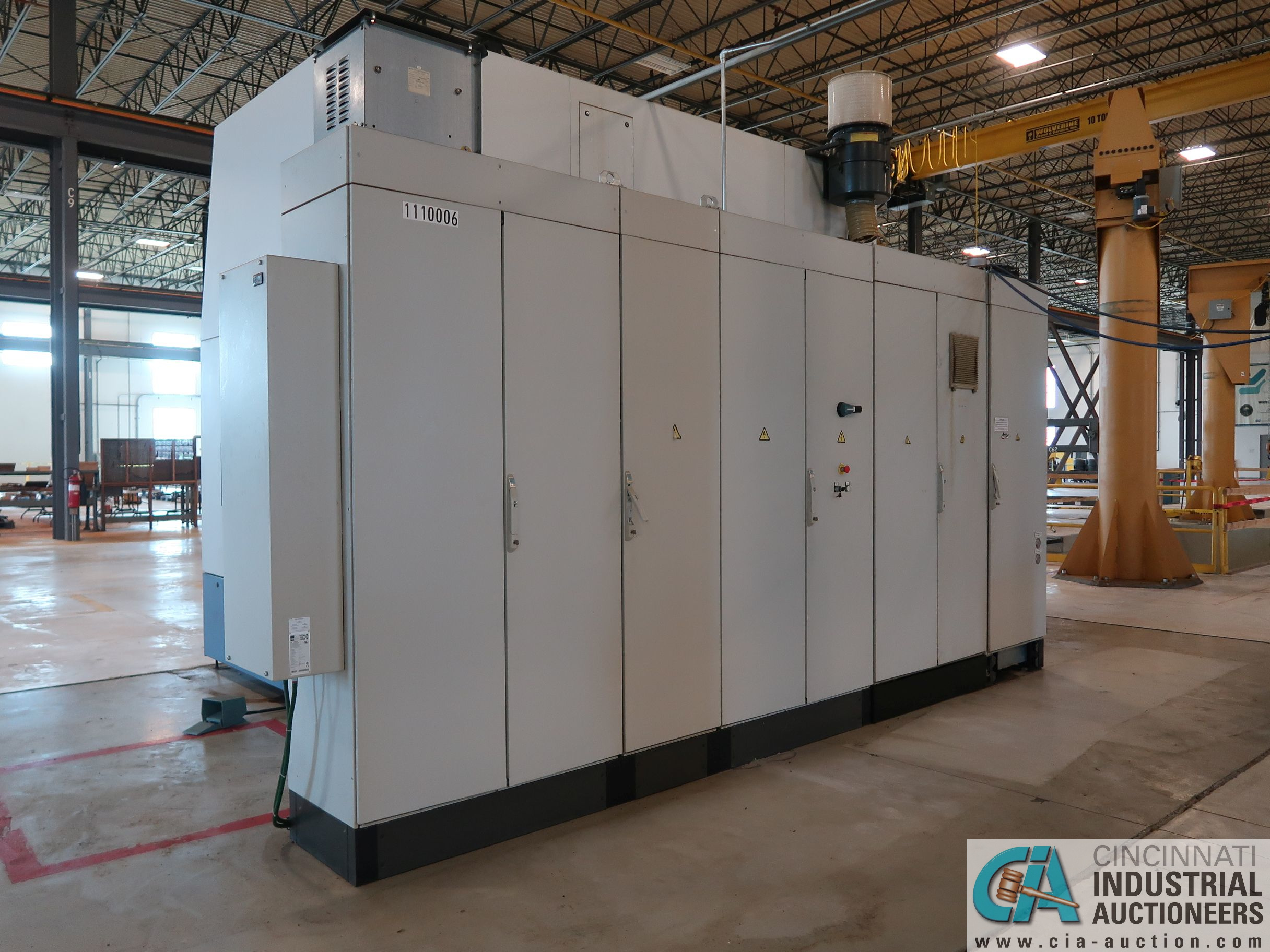 BERTHIEZ MODEL RVU 900/80 ID/OD, WITH TURNING, VERTICAL CNC GRINDER; S/N 4219, 84OD SIEMENS CONTROL - Image 23 of 33