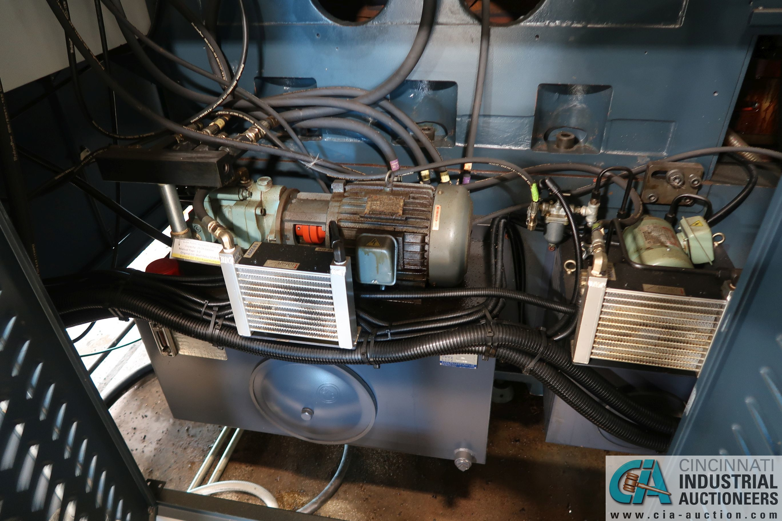 "49"" / 63"" YOU JI MODEL YV-1200ATC+C CNC VERTICAL BORING MILL W/20 HP LIVE TOOLING; - Image 14 of 25"