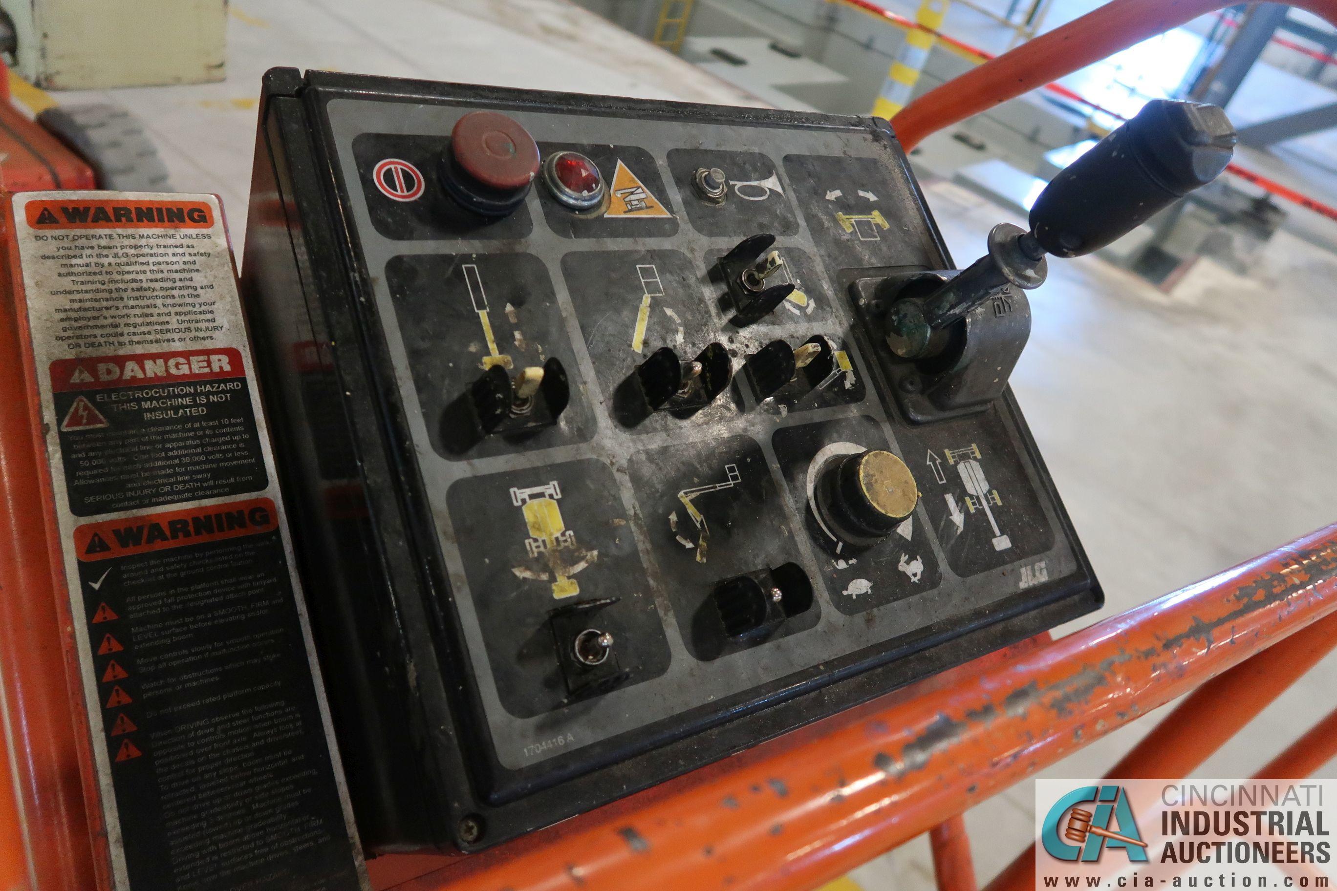 40' JLG MODEL N40 ELECTRIC BOOM LIFT; S/N 33882, 500 LB CAPACITY, 503 HOURS SHOWING (MFG YEAR 1998) - Image 7 of 9