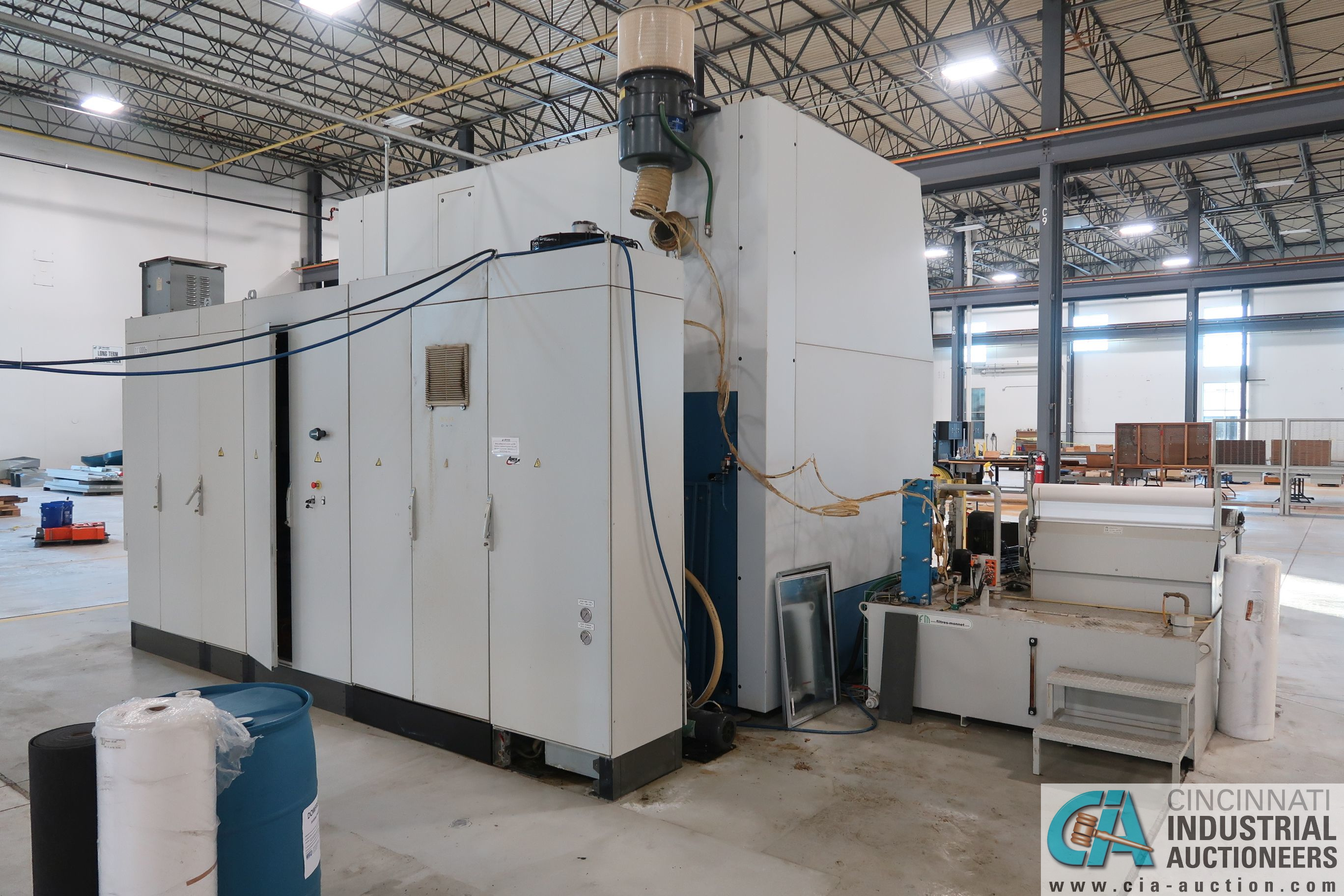 BERTHIEZ MODEL RVU 900/80 ID/OD, WITH TURNING, VERTICAL CNC GRINDER; S/N 4219, 84OD SIEMENS CONTROL - Image 4 of 33