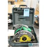 "7-1/4"" HITACHI CIRCULAR SAW"