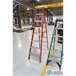 8' LOUISVILLE FIBERGLASS LADDER