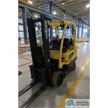 "7,000 LB. HYSTER MODEL S70 LP GAS LIFT TRUCK; S/N G187V02112M, 80"" MAST HEIGHT, 122"" MAX LIFT"