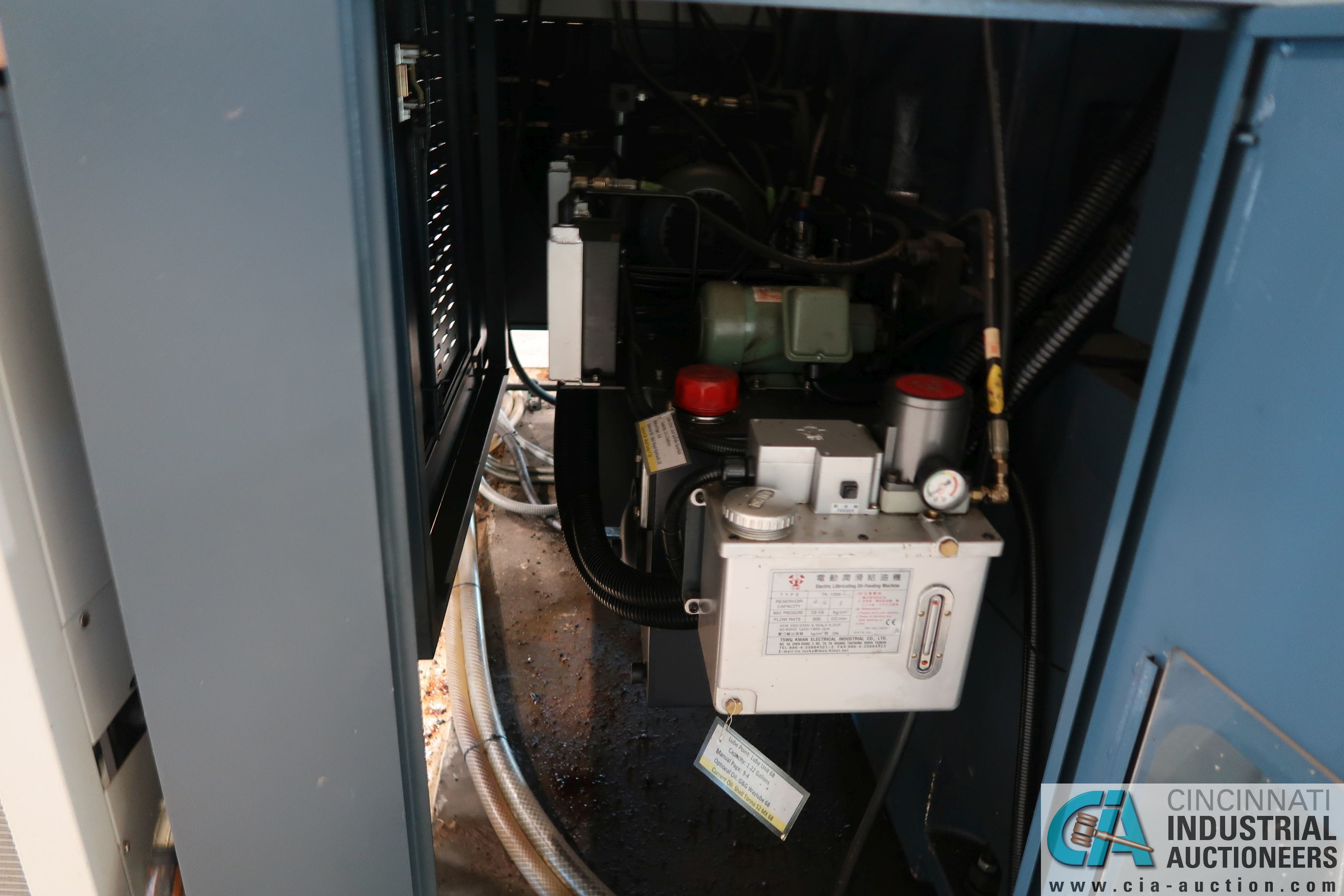"49"" / 63"" YOU JI MODEL YV-1200ATC+C CNC VERTICAL BORING MILL W/20 HP LIVE TOOLING; - Image 12 of 25"