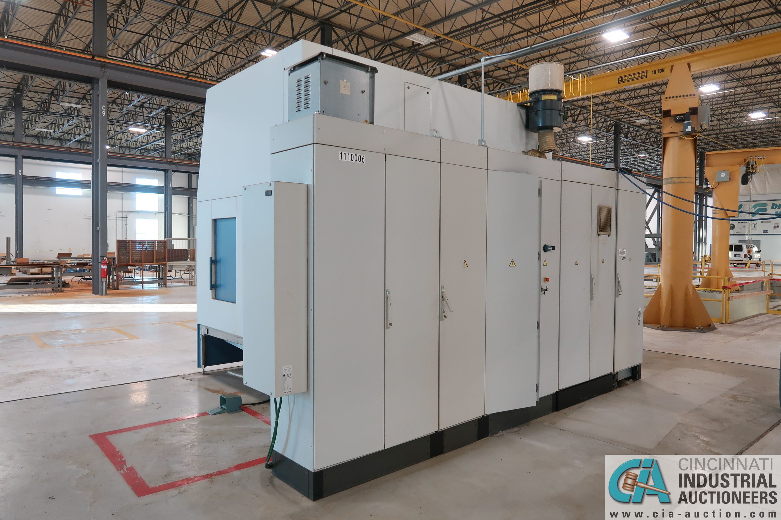 BERTHIEZ MODEL RVU 900/80 ID/OD, WITH TURNING, VERTICAL CNC GRINDER; S/N 4219, 84OD SIEMENS CONTROL - Image 3 of 33