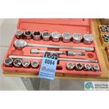"3/4"" TEKTON METRIC SOCKET SET, 19 MM - 50 MM"