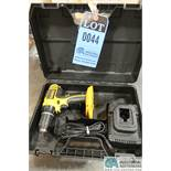 """1/2"""" DEWALT CORDLESS DRILL WITH CHARGER"""