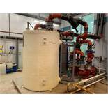 (2) 15 HP Water Pumps & (2) 10 HP Water Pumps, Alfa Laval AQ4L-FG Plate Type Heat Exchanger, Water