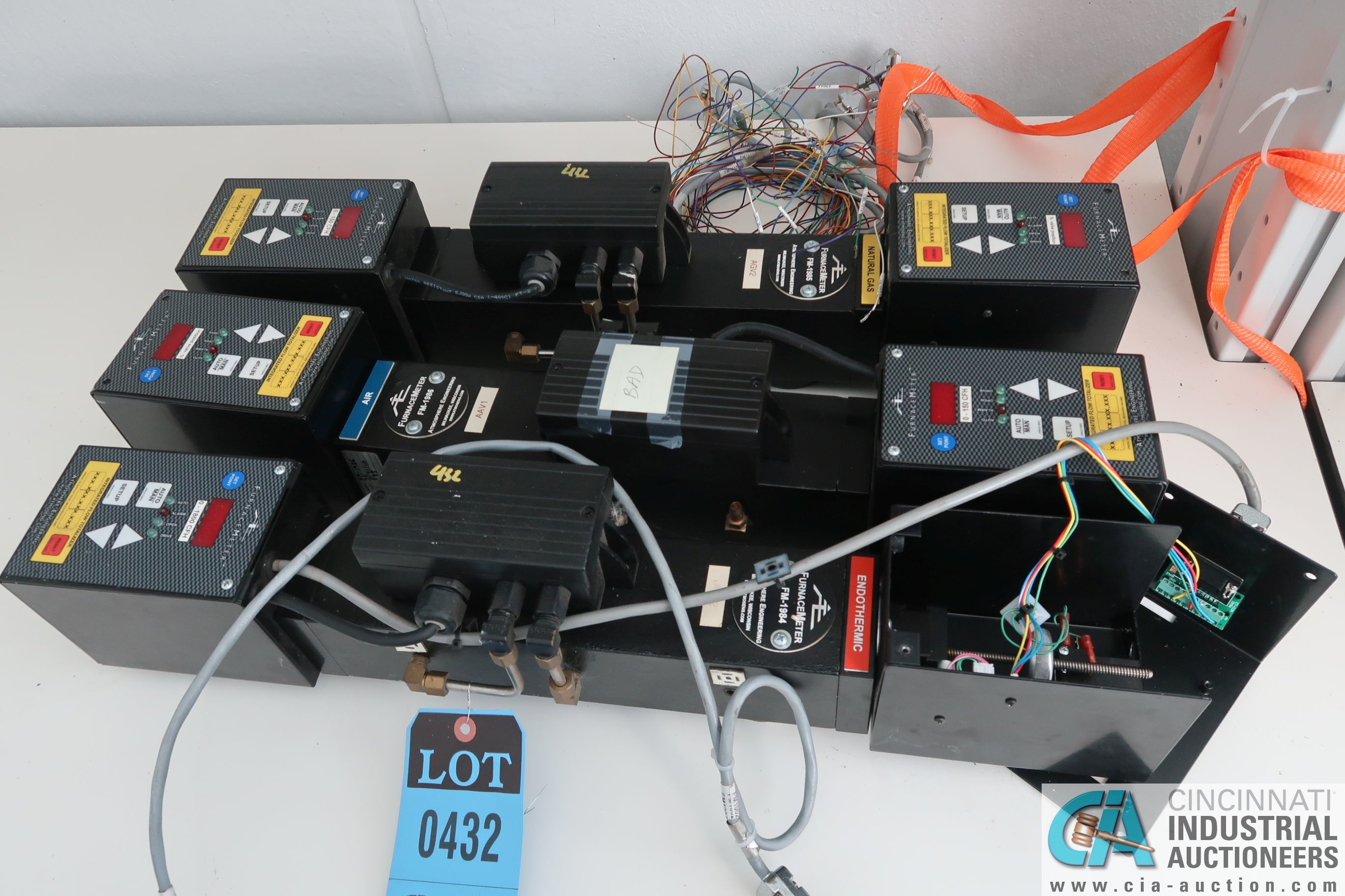 FURNACE METER INTEGRATED FLOW TOTALIZERS