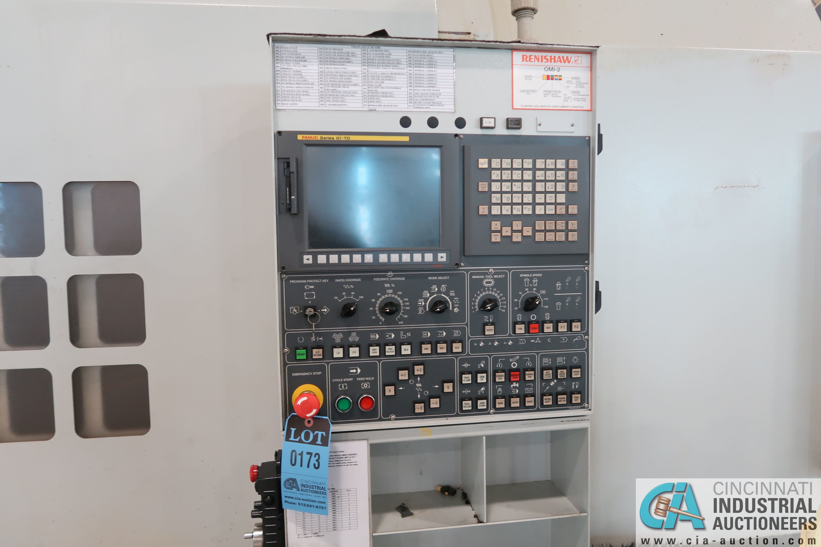 "49"" / 63"" YOU JI MODEL YV-1200ATC+C CNC VERTICAL BORING MILL W/20 HP LIVE TOOLING; - Image 6 of 25"