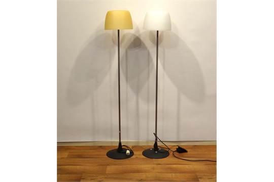 2 italiaanse designlampen stel italiaanse designlampen met geblazen