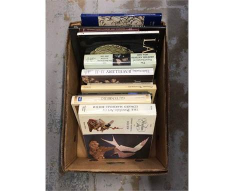 One box of books, the arts, Lalique, Royal Society of British Artists etc