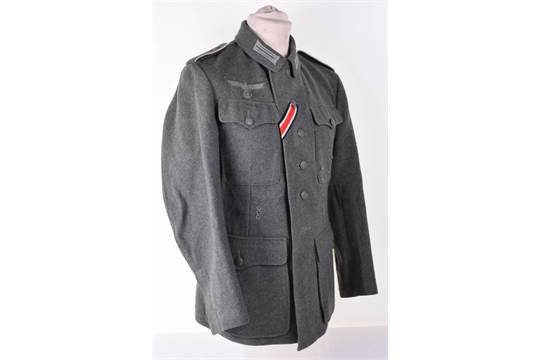 WW2 German Army Other Ranks Combat Tunic, superb example of