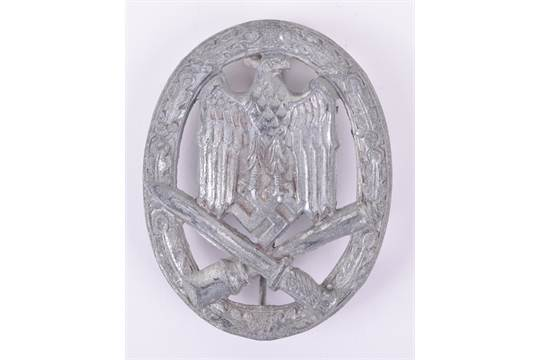 WW2 German Army / Waffen-SS General Assault Combat Badge