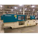 176 Ton 9.3 Oz.,Mitsubishi 180MSJ-10 200 Injection Molding Machine ,MAC VII control, core pull,