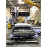"""SNK AIC-150 Multi-center Bridge Type 5-Face Machining Center, Fanuc OM-C CNC Control, 157""""x106""""x78."""
