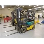 Komatsu FG 15HT-17 Forklift Capacity 4000 lbs