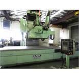 """SNK FSP-120V 5 Axis CNC Vertical Profiler Mill, Fanuc 16M Control, 120"""" x 50"""" x 24"""" trvls, +/- 25"""