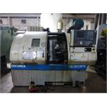 "Okuma Crown SB CNC Lathe,OSP700 Control, 10"" max turn diam, 2"" spindle bore, 15"" max swing, s/n"