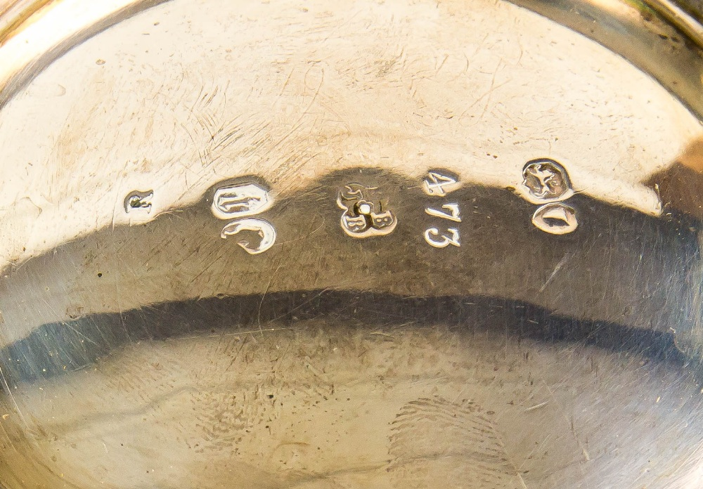 Lot 2024 - Victorian silver twin-handled sugar bowl, with floriform rim, by Edward & John Barnard, London,