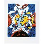 Boisrond François (1959) Untitled, 2005 - 50 x 40 cm - Serigraph N° 11/22 - Signed [...]