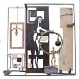 Fernandez Daniel (1961) I have a dream, 2006 - Sculpture Mixed media - 82 x 82 x 32 cm -