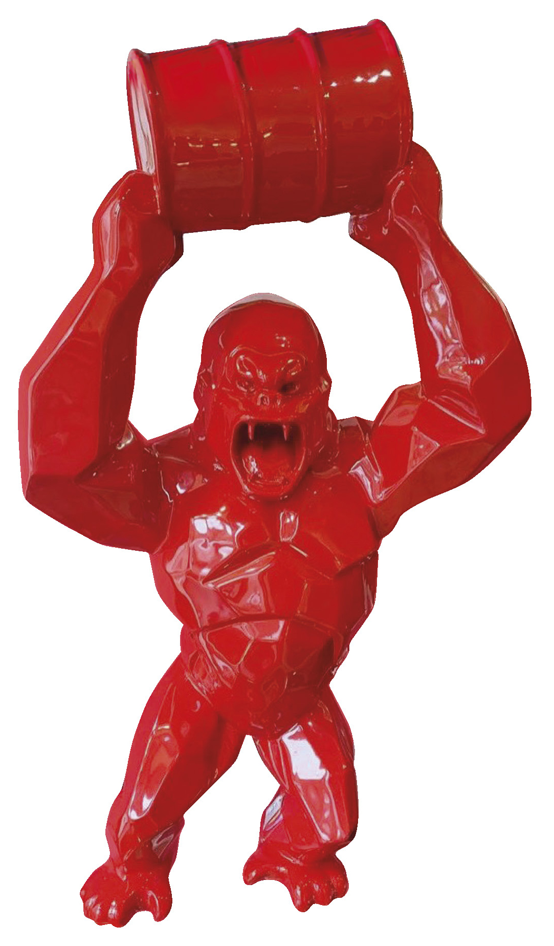 Orlinski Richard (1966) Kong Oil Baril - Sculpture resin - N°4/8 - 68 cm -