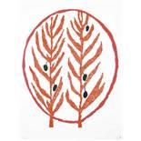 Bourgeois Louise (1911-2010) Rameaux d'olivier, 2002 - 40 x 30 cm - Lithograph [...]