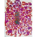 Raymond Marie (1908-1988) (mother of Yves Klein) Untitled - Gouache on paper - Signed [...]