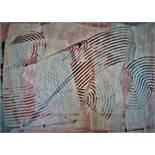 Verbruggen Hubert (1944) Scarifications - Acrylic on paper - 40 x 50 cm -