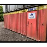 21ft 5 Bay Unisex Toilet Block/ Welfare Cabin