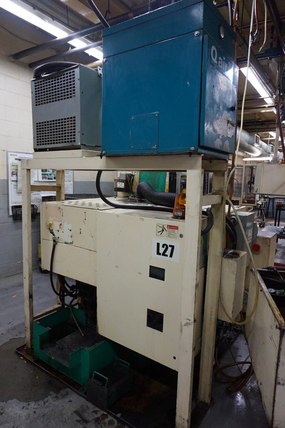 Takamatsu Model X10 CNC Lathe 200/220V c/w Chip Conveyor, Transformer - Image 5 of 5