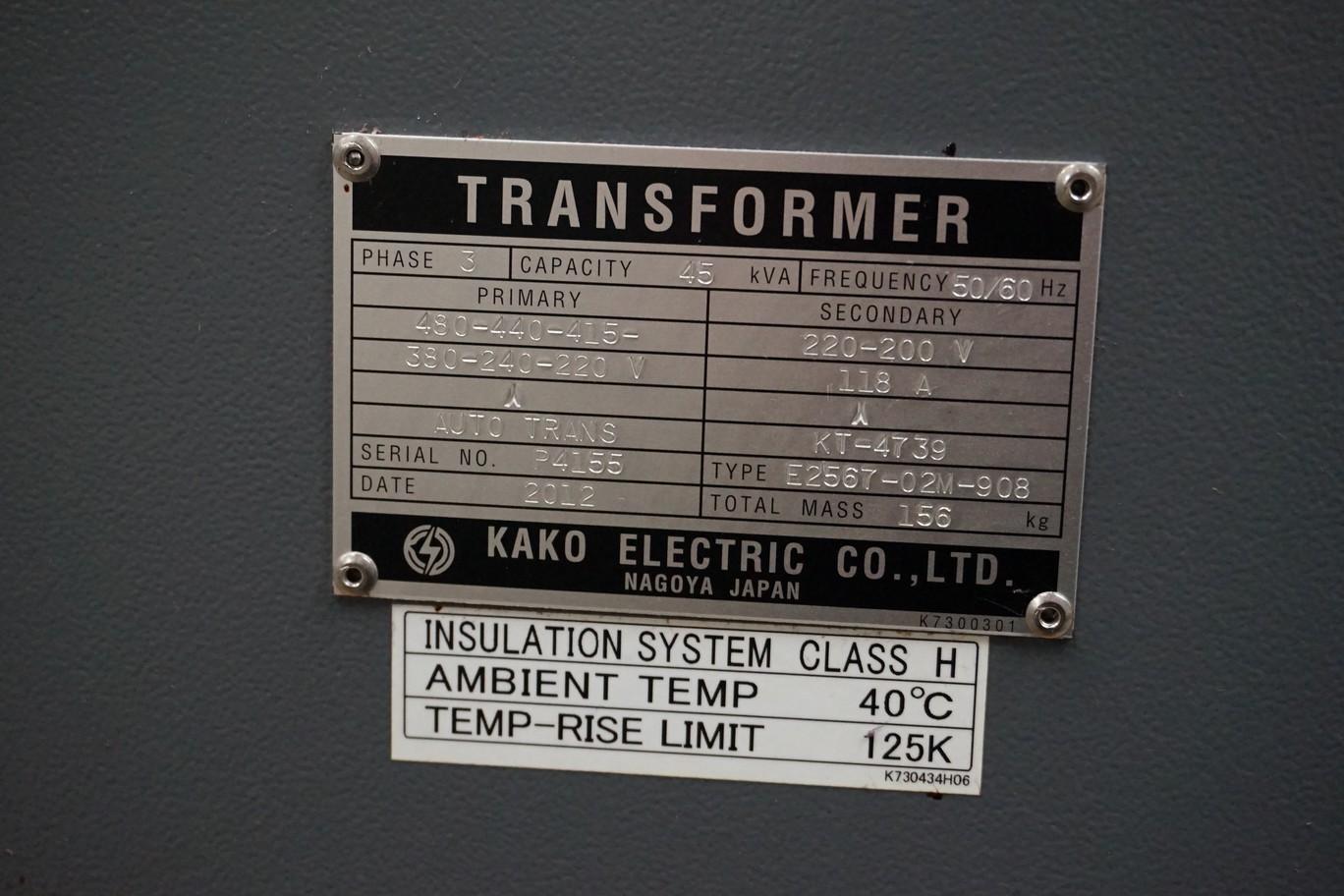 Kako Electric 480-220V, 45 Kva Transformer - Image 2 of 2