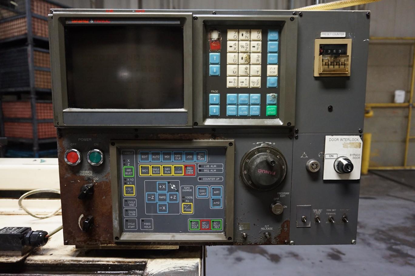Takamatsu Model MT CNC Lathe 200/220V c/w Transformer (L66) - Image 3 of 7