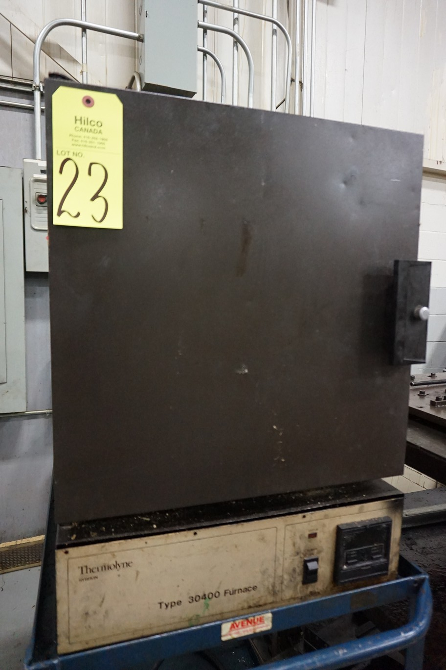 Thermolyne Type 30400 Furnace, Serial Number: n/a