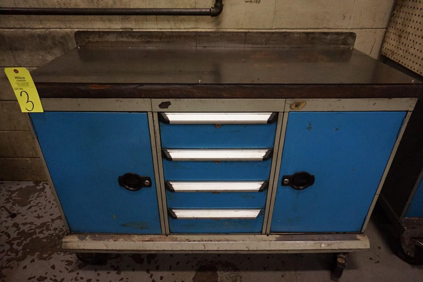 """Rousseau 54"""" x 21"""" x 83"""" Portable Cabinet"""