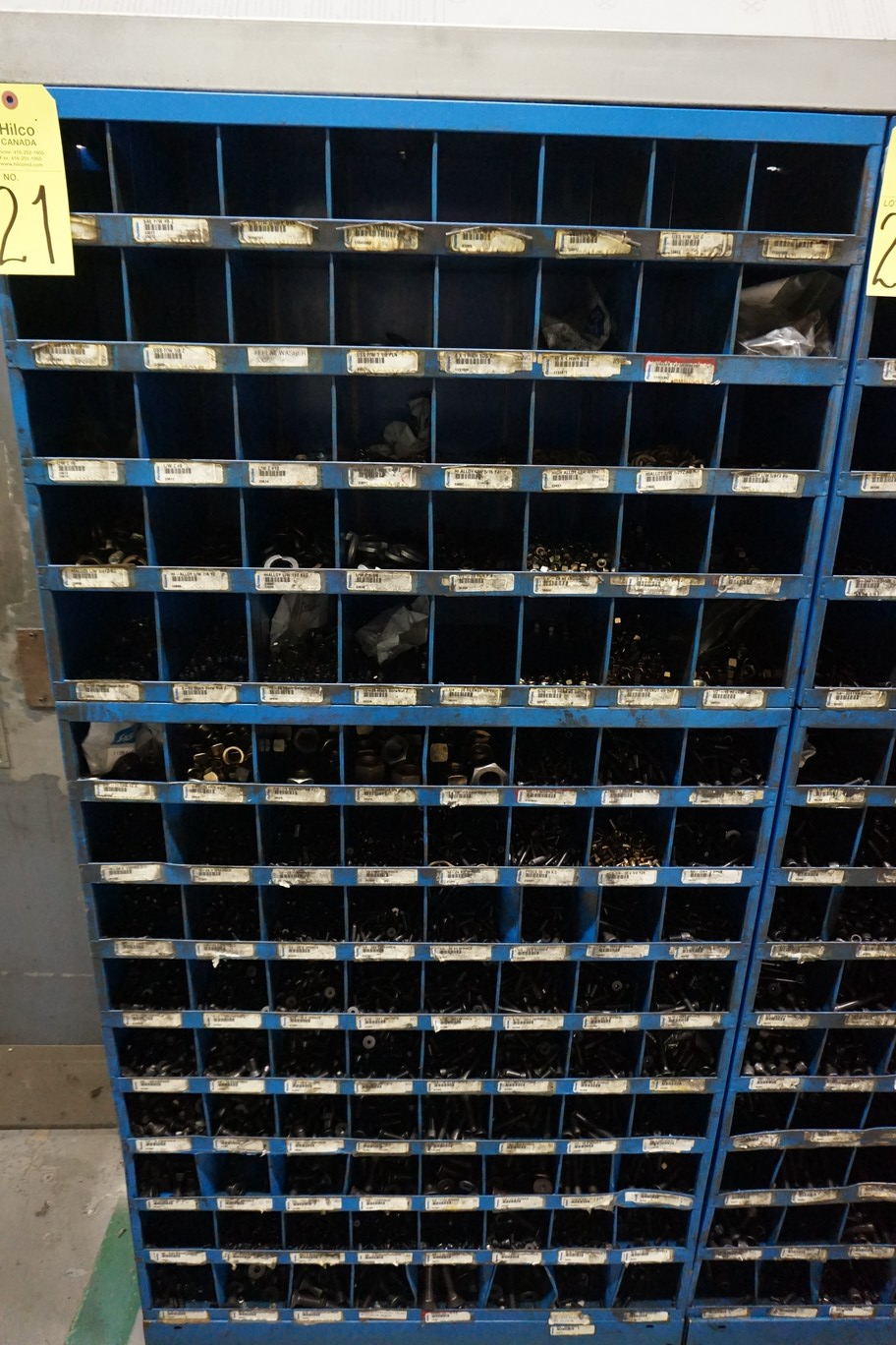Fastenal Pigeon Hole Cabinet with Hardware