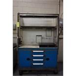 """Rousseau 54"""" x 21"""" x 37"""" Portable Cabinet"""