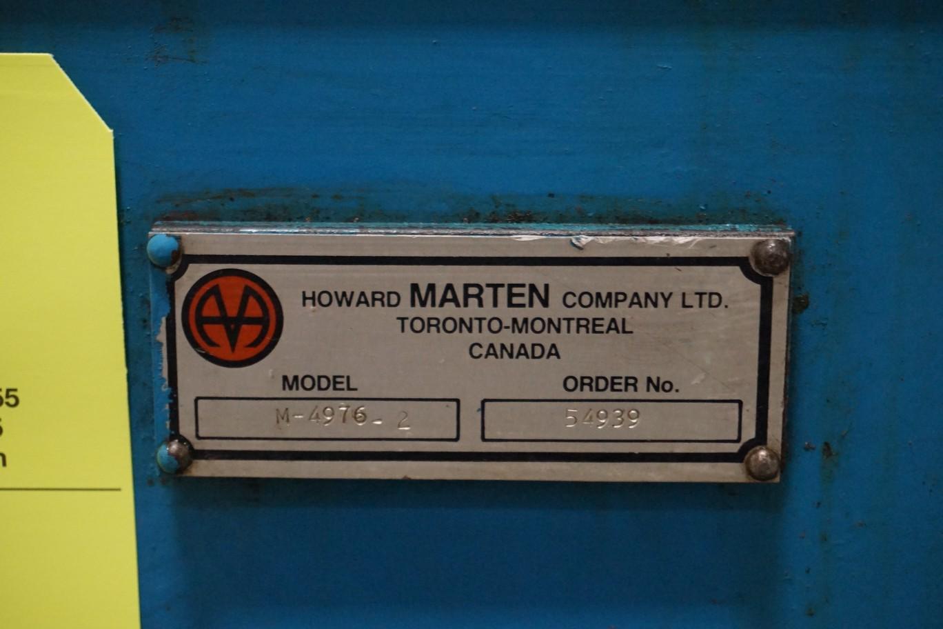 Marten Model M4976-2 Hydraulic Power Pack - Image 2 of 2