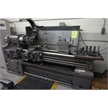 Yam Model 1500H Horizontal Lathe with Quick Change Tool Post, Spindle Bore