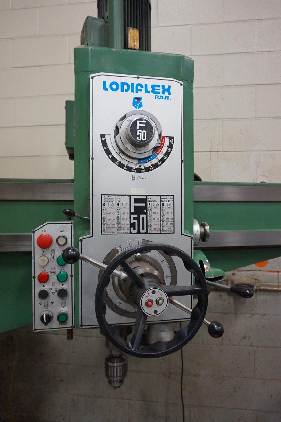 Lodiflex Model F50 Radial Arm Drill - Image 2 of 4