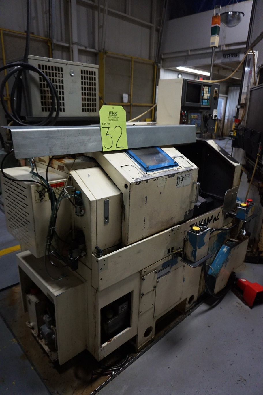 Takamatsu Model MT CNC Lathe 200/220V c/w Transformer (L66) - Image 2 of 7