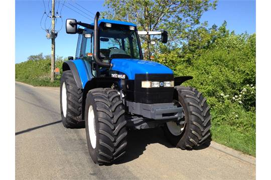 New Holland TM150 Tractor with Cab & Axle Suspension  V5