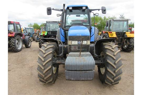 New Holland TM150 Tractor with Front Weights  51 Reg