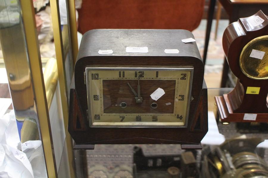 1930/40's mantle clock, Arabic numerals