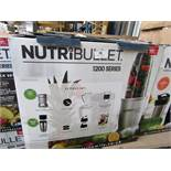 | 5X | NUTRI BULLET 1200 SERIES | UNCHECKED AND BOXED | NO ONLINE RESALE | RRP £119.99 |TOTAL LOT