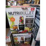 | 10X | NUTRI BULLET 600 SERIES, COLOUR MAY VARY FROM THE PICTURE | UNCHECKED AND BOXED | NO